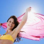 Sunburn home remedy
