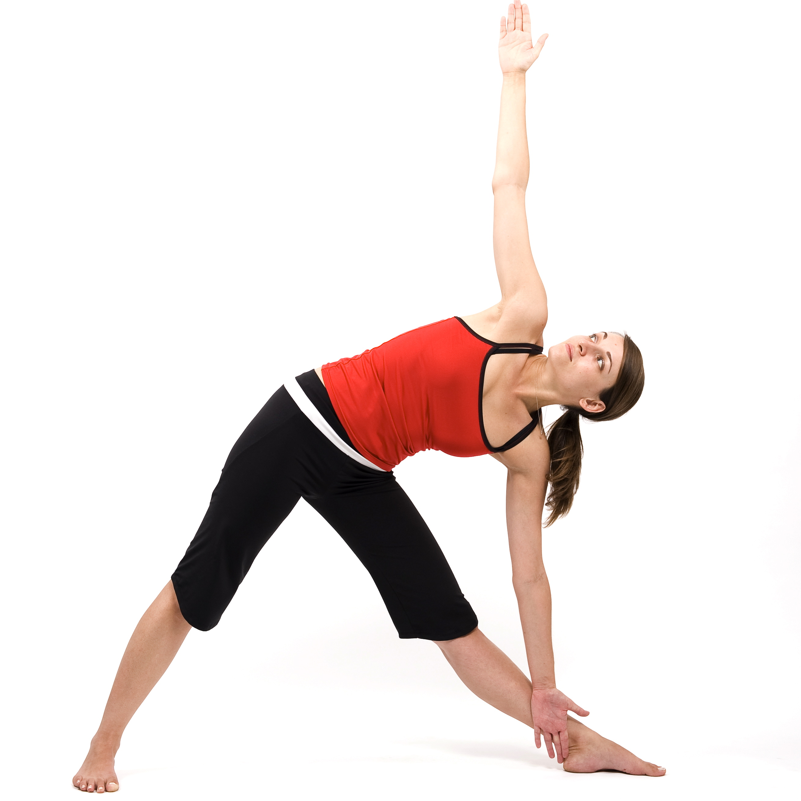 Triangle Pose Increase Height