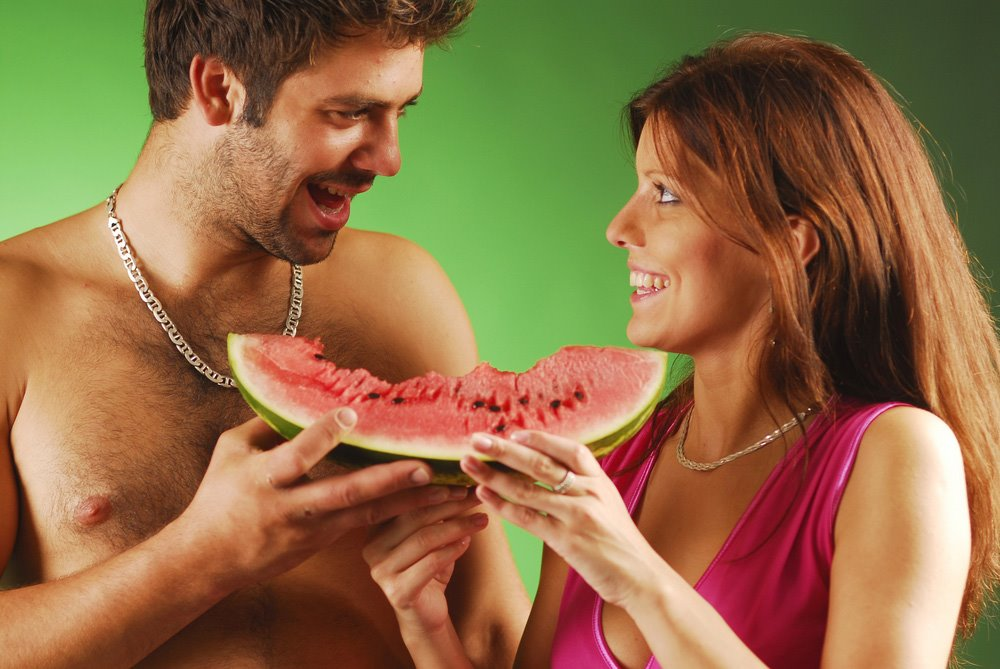 watermelon as viagra. watermelon for sex stimulation